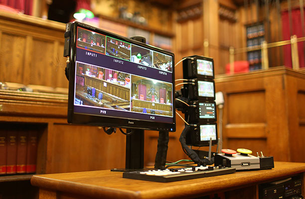 A 'landmark' baby step towards filming the courts welcomed by all