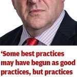 What if 'best practice' is wrong?