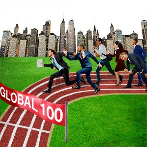 Global 100: It's hard going all over