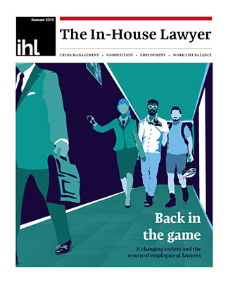 The In-House Lawyer - Summer 2019 cover