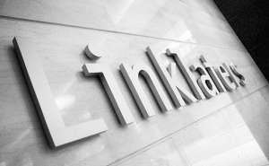 Linklaters Logo on Wall