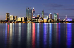 Perth Nightime CityScape