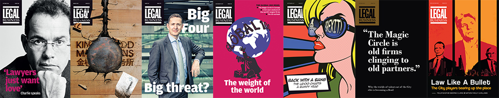 Legal Business past issue covers