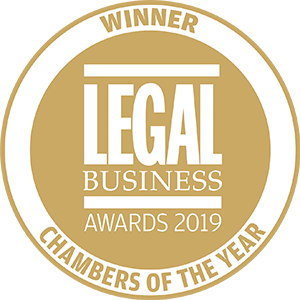 Winner of Legal Business Awards 2019: Chambers of the Year