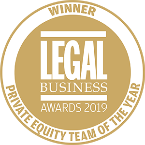 Winner of Legal Business Awards 2019: Private Equity Team of the Year