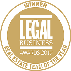Winner of Legal Business Awards 2019: Real Estate Team of the Year