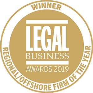 Winner of Legal Business Awards 2019: Regional/Offshore Team of the Year