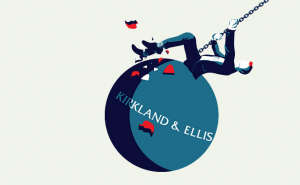 riding on a Kirkland & Ellis wrecking ball