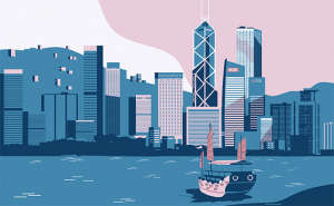 Hong Kong illustration
