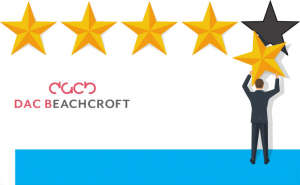 DAC Beachcroft star rating