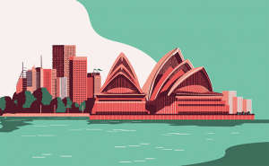 Sydney illustration