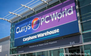 Currys PCWorld/Carphone Warehouse store