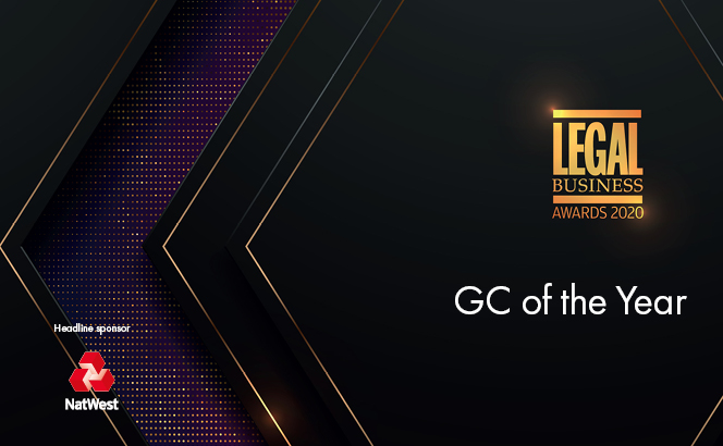 Legal Business Awards 2020 – GC of the Year