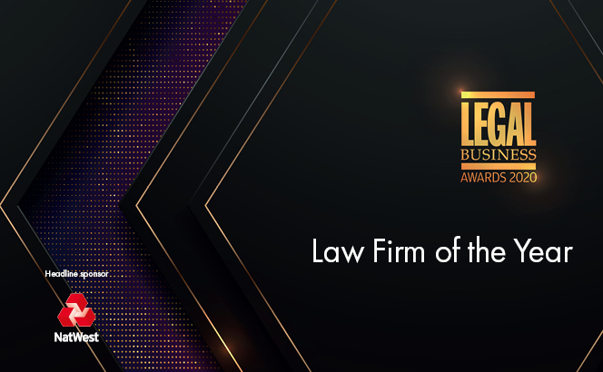 Legal Business Awards 2020 – Law Firm of the Year