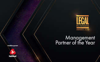 Legal Business Awards 2020 – Management Partner of the Year