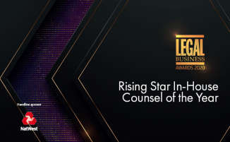 Legal Business Awards 2020 – Rising Star In-House Counsel of the Year