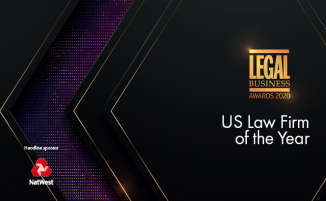 Legal Business Awards 2020 – US Law Firm of the Year