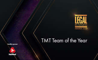 Legal Business Awards 2020 – TMT Team of the Year
